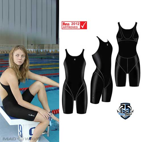 Гидрокостюм Mad Wave Bodyshell Women Short Leg Fina Appr