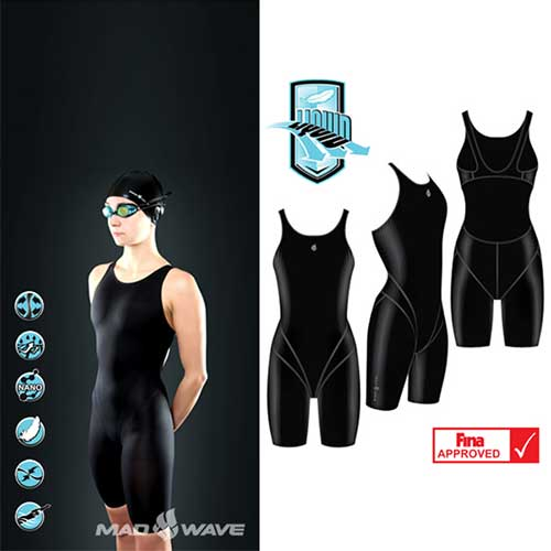 Гидрокостюм Mad Wave MW LIQUID women Short Leg Fina Appr